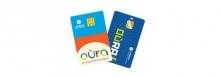 Les deux générations de cartes nominatives Oùra sont en vente sur oura.com