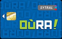 Carte OùRA! TCL SYTRAL