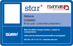 Carte OùRA! Star Verso